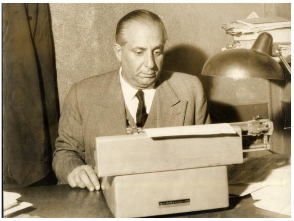 Enrico Mattei, direttore de La Nazione dal 1961 al 1970