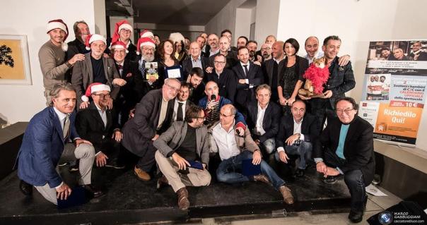 Premiati e partecipanti: foto di gruppo a Quarta di copertina