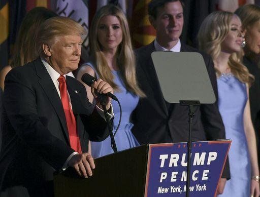 Donald Trump, 45° presidente degli Stati Uniti d'America