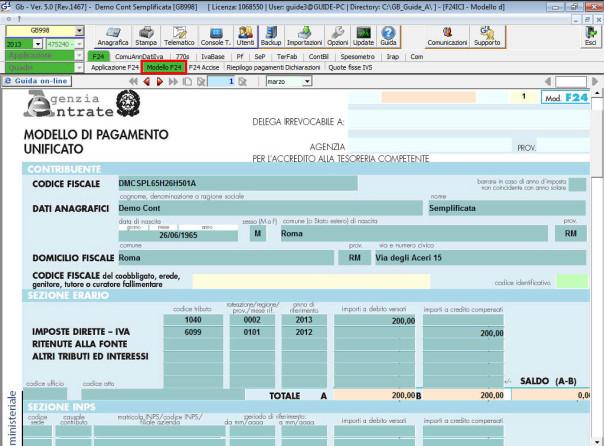 193/2016 è Entrata In Vigore Anche Lu0027abrogazione Dellu0027obbligo Di Utilizzo  Del Modello F24 Telematico Per I ...
