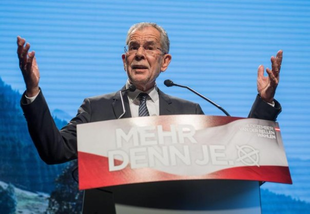 Austria elections: Early projections see Alexander Van der Bellen winning re-run of the run-off