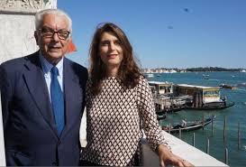 Paolo Baratta e Christine Macel, Biennale Arte di Venezia
