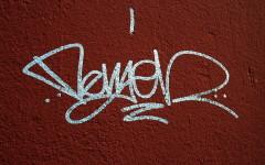 Un esempio di graffito (autore: Knuckles)
