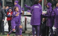 Fiorentina, serata magica: quattro reti all'Inter
