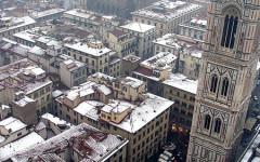 Allerta meteo, sulla Toscana aria fredda e neve