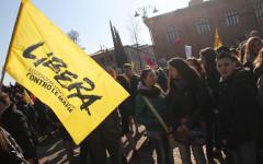 La marcia anti-mafia di Firenze