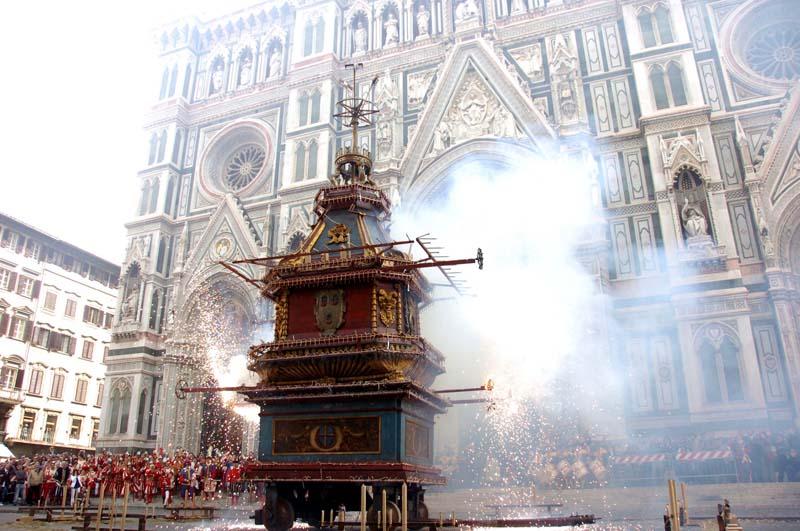 Pasqua a Firenze. Cerimonie che affondano le radici nelle Crociate