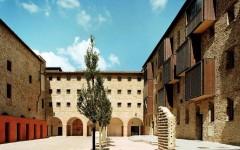 Uno dei cortili interni del complesso delle Murate, a Firenzae