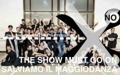 Un manifesto della campagna 'Salviamo il MaggioDanza'