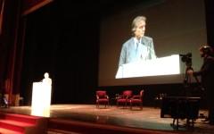 Luca Cordero di Montezemolo al congresso Aidp di Firenze