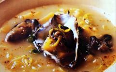 Preparazione della Zuppa di ostriche