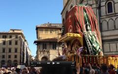 Il Festival del carro a Firenze per il Ratha Yatra 2013