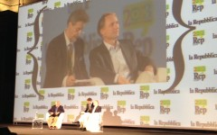 Dan Brown all'inaugurazione di Repubblica delle idee 2013 a Firenze