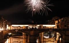I fuochi che festeggiano San Giovanni, patrono di Firenze