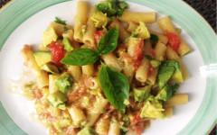 Maccheroni in salsa Guacamole