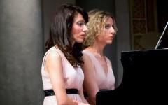 Da sinistra Marica Corso e Simona Scolletta