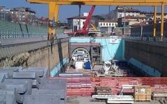 La talpa, fresa per il sottoattraversamento ferroviario fiorentino,