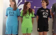 Le nuove maglie della Fiorentina