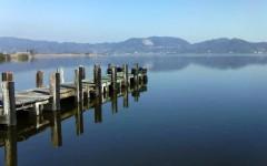 Il lago di Massaciuccoli in Versilia