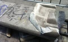 Danneggia panchina in piazza a Firenze