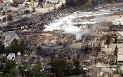 Tragedia ferroviaria in Quebec a Lac-Megantic