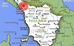 Terremoto, scossa di magnitudo 2.8 sulle Alpi Apuane