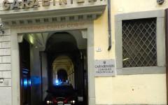 Il comando provinciale di Firenze dei Carabinieri