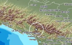 Terremoto, nuova scossa stanotte in Lunigiana