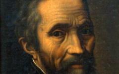 Michelangelo (foto Casa Buonarroti)