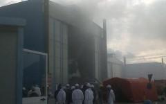 Incendio su un megayacht in cantiere a Livorno