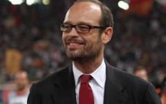 Il presidente del Siena calcio Massimo Mezzaroma