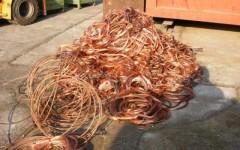 Cinque tonnellate di rame rubate a Livorno