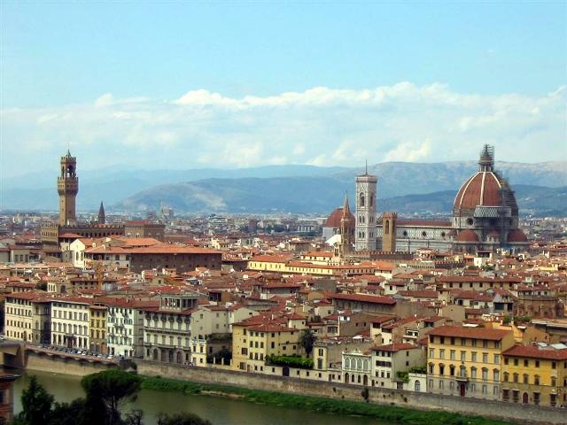 Il panorama di Firenze