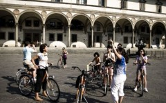 In bicicletta a Firenze