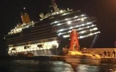 La sera del 13 gennaio 2012, il naufragio della Concordia al Giglio