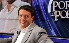 Renzi a «Porta a Porta» attacca Letta e Berlusconi