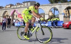 Sopralluogo sul circuito di Firenze per Filippo Pozzato
