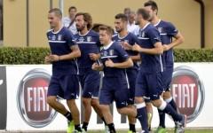 L'allenamento della Nazionale a Coverciano