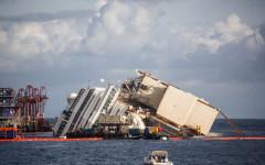 L'operazione di parbuckling per la Costa Concordia