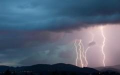 Maltempo Toscana, 16 mila fulmini e 30 millimetri di pioggia