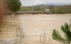 La piena del fiume Ombrone