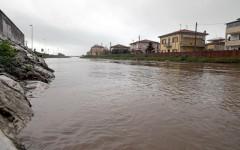 La piena del fiume Versilia