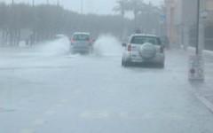 Maltempo, Piombino: allagamenti e infiltrazioni d'acqua dai tetti per un violento temporale