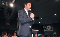 Matteo Renzi dalla Fiera del Levante di Bari lancia la sfida al Pd
