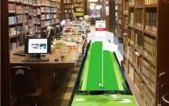 Simulazione della buca presso la Biblioteca Nazionale di Firenze