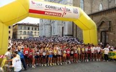 Firenze, domenica «Corri la vita» con starter Prandelli