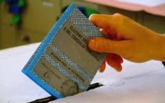 Urna alle elezioni amministrative