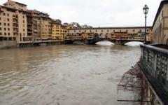 Maltempo, l'Arno è tornato sotto il livello di guardia