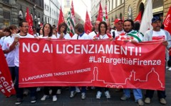 Contratto di solidarietà per i lavoratori Targetti