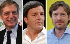 Cuperlo-Renzi-Civati, confronto in tv